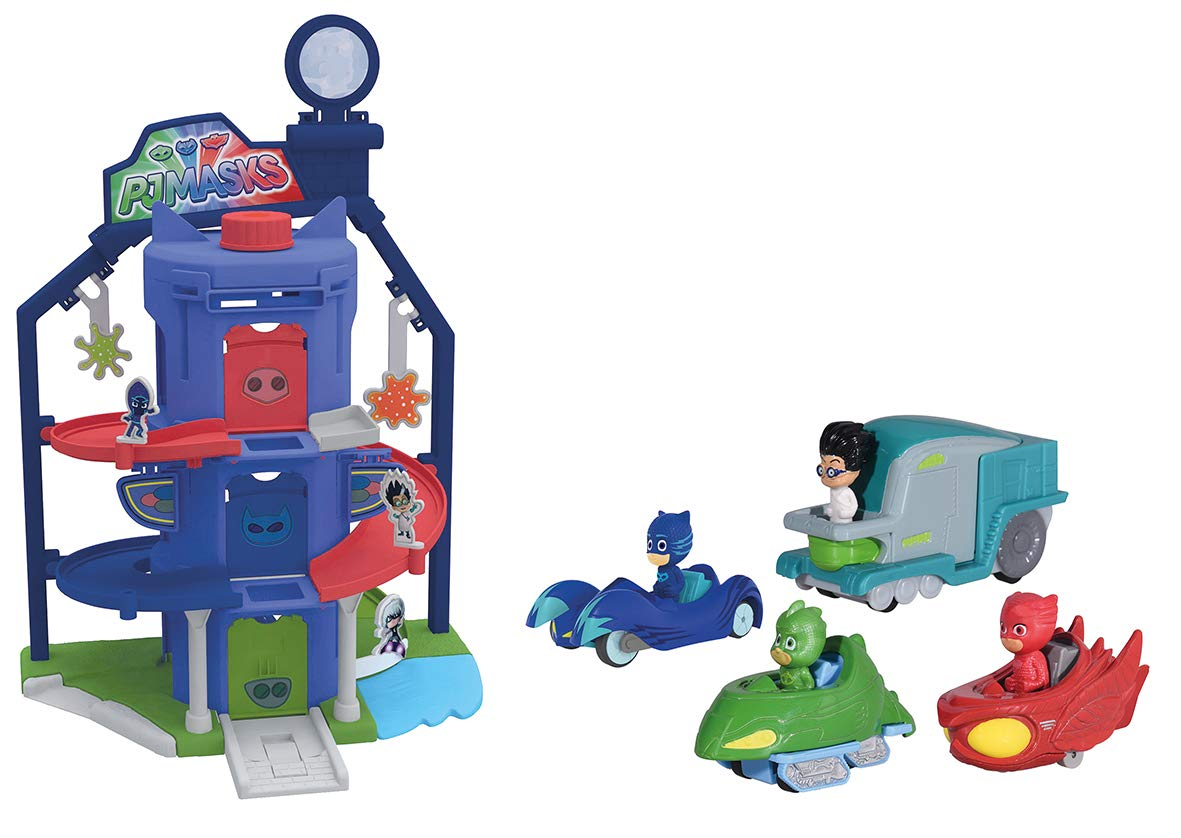 Majorette Pjm Garage Quarter General 7 203145002 Veh Miniature Set of 4 Multi-Coloured