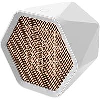 Eastdall Aquecedor Pessoal,Aquecedor de espaço Mini Aquecedor de mesa 1000 W Hexagonal Mini aquecedor pessoal…