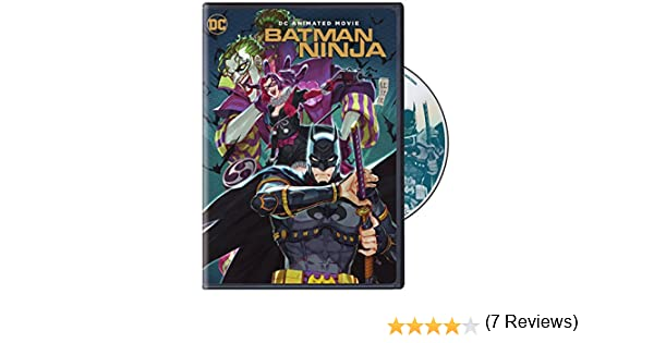 Batman Ninja [Edizione: Stati Uniti] [Italia] [DVD]: Amazon ...