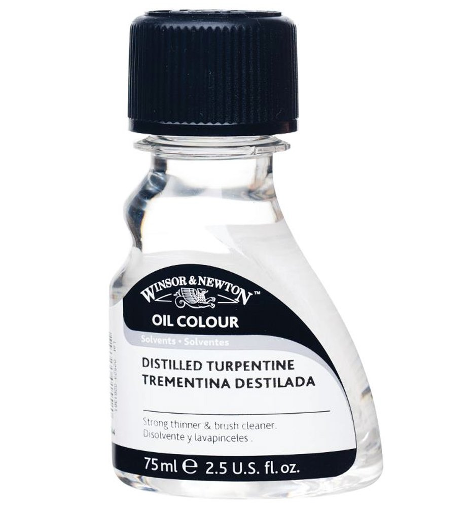 Winsor & Newton Oil & Alkyd Solvents English distilled turpentine 75 ml 3221744