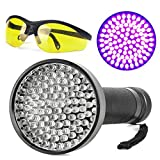 Tools & Hardware : Escolite UV Flashlight Black Light, Ultraviolet Blacklight Detector for Dog Urine, Pet Stains and Bed Bug (100 LED UV Flashlight)