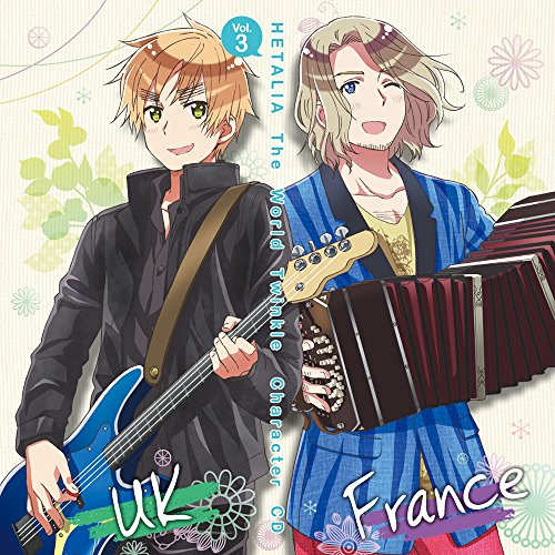 Price comparison product image ANIME HETALIA THE WORLD TWINKLE CHARACTER CD VOL.3