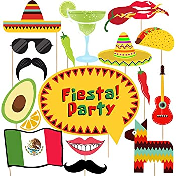 Amazoncom Big Dot Of Happiness Mexican Fiesta Mexican Themed