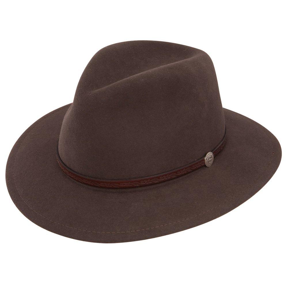 16986b425 Stetson TWCMWL-8824 Cromwell Hat, Mink - XL