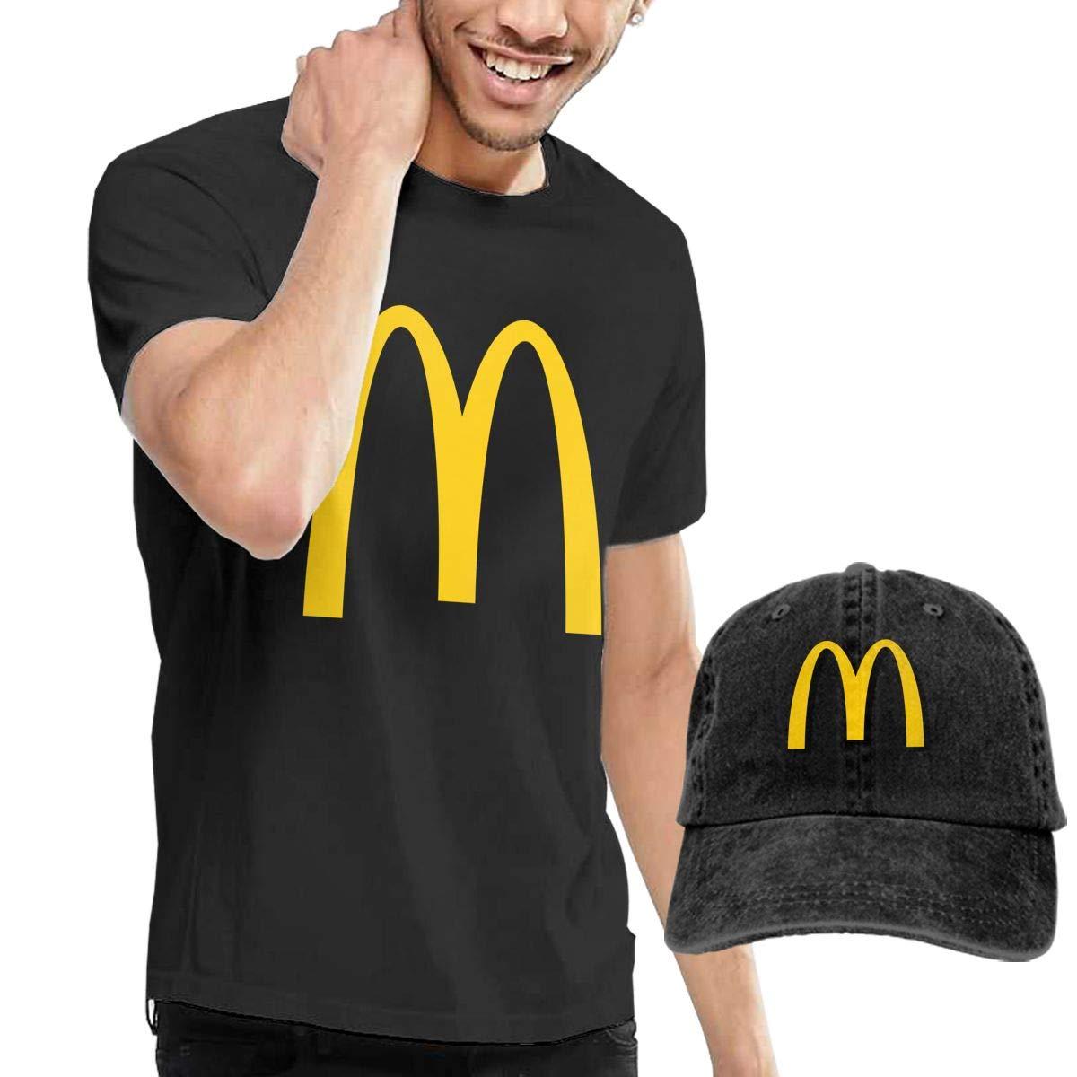 Mcdonalds - Camiseta de Manga Corta para Hombre (2 Unidades ...