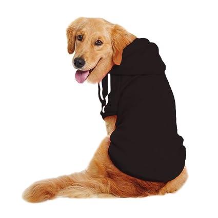 b57960c85616 Amazon.com   LESYPET Dog Sweater Hoodie - Big Dog Hoodies Sports ...