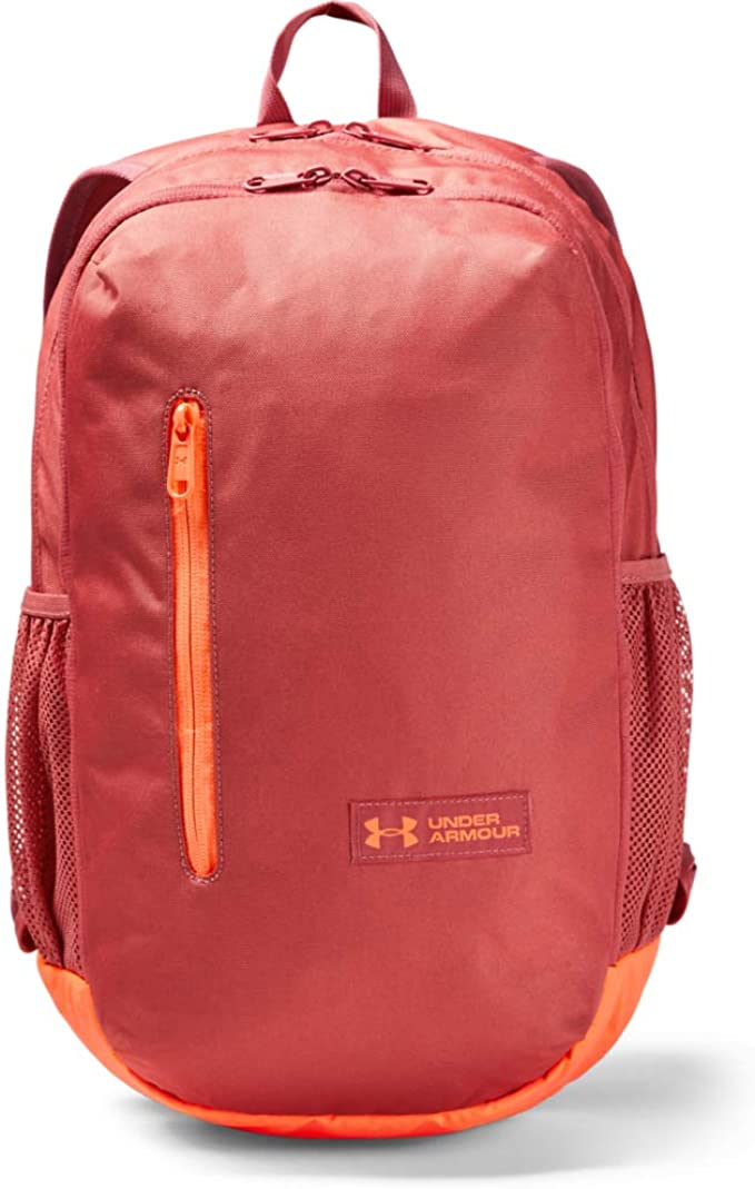 Under Armour Roland Backpack, Fractal Pink (692)/Peach Plasma, One Size Fits All