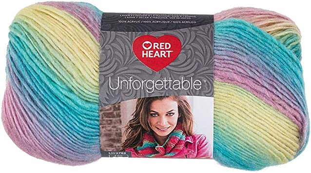 Red Heart Boutique Unforgettable Yarn  Candied