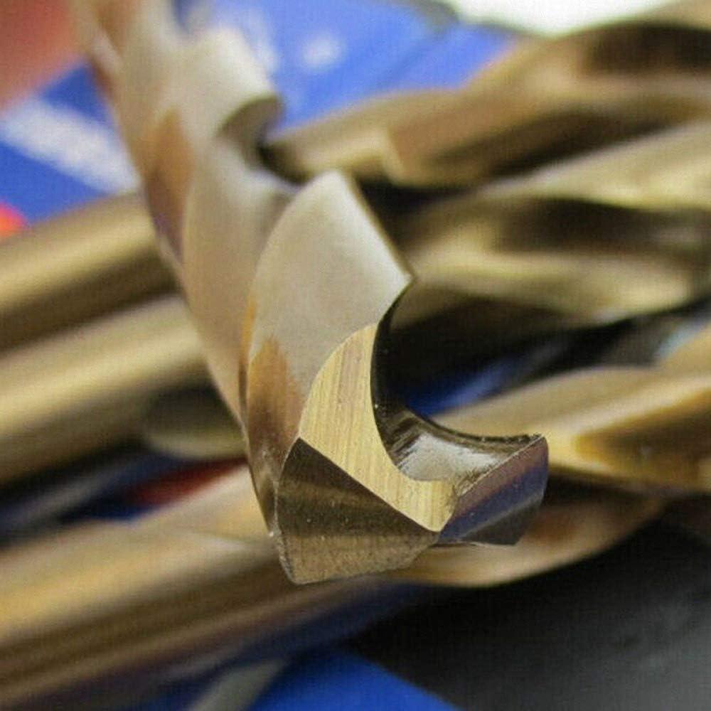 5pcs High strength Drill Bit HSS CO M35 Cobalt Twist Drill Bits For Metal Steel 1mm 2mm 3mm 4mm 5mm