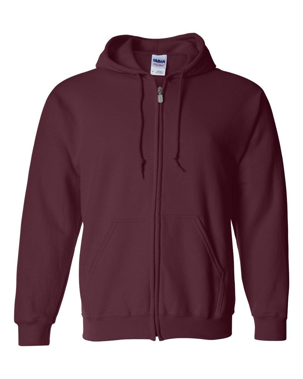 Gildan Men's Fleece Zip Hooded Sweatshirt, Gildan Men's Activewear M25242