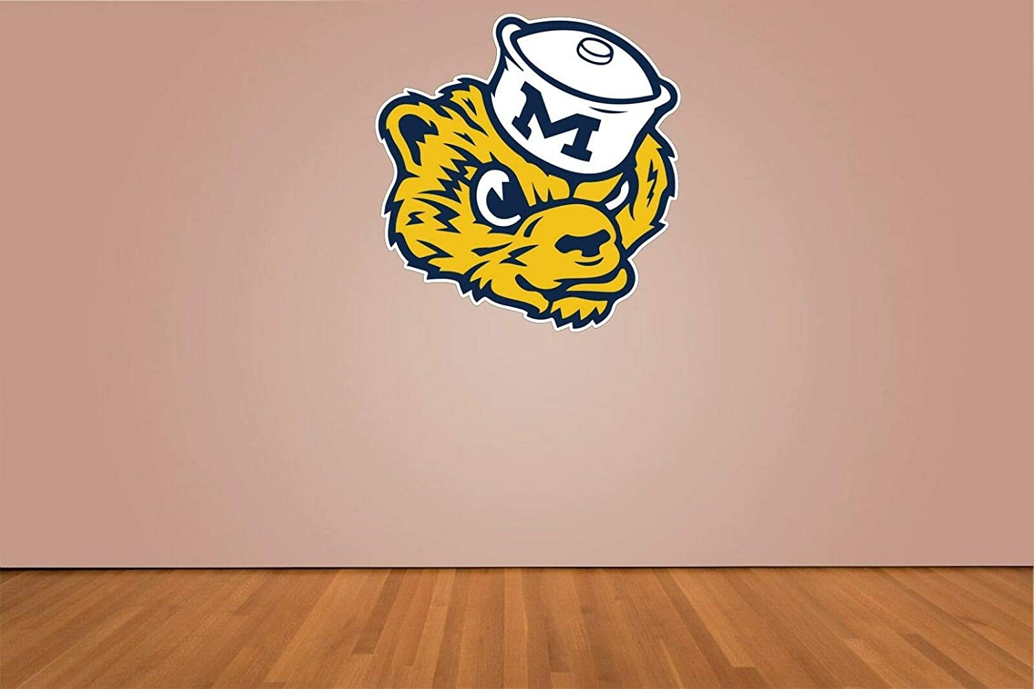 Car or Laptop Michigan Wolverines Vinyl Stickers Logo ////Any-Size////University of Michigan Football Stickers for Truck