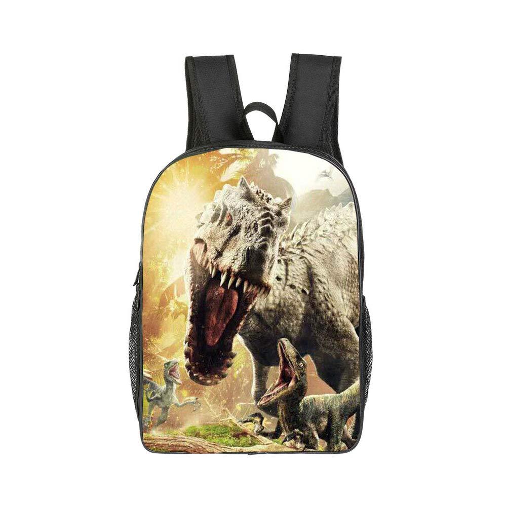 debieborahtoys Dinosaur Backpack Jurassic World Backpack 3D Printing Book Bag Children School Backpacks