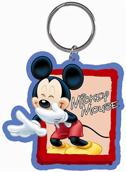 Amazon.com: Photo op – Mickey Lasercut Disney Llavero: Home ...