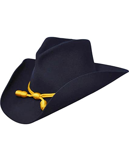 93e99be0 Bailey Men's Western Cavalry II Hat, Navy, 7 5/8 at Amazon Men's Clothing  store: Cowboy Hats