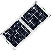 Juego de paneles solares plegables de 60 W, cargador de teléfono de energía solar de 18/12 / 5 V con placa de batería…