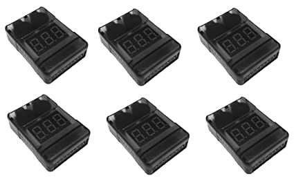 Amazon.com: 6 x Quantity of DJI Phantom LiPo Battery Low ...