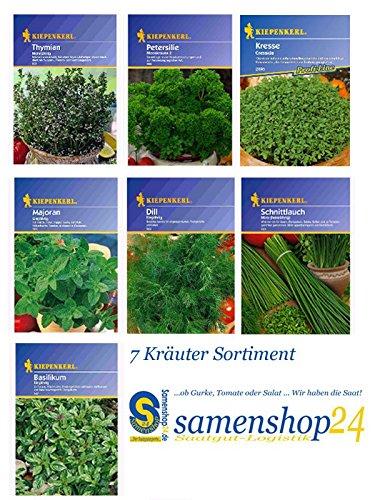 Saat-Sortiment Kräuter - 7 Sorten
