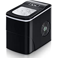 Ice Maker Machine for Countertop, FREE VILLAGE 9 Cubes Ready in 6-8 Mins, 26Lbs/24H Portable Ice Makers,Compact Ice Cube…