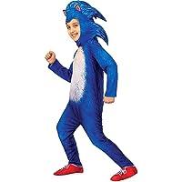 Bulex The Hedgehog Costume Boys Cartoon Kids Jumpsuit Cosplay Bodysuit Gloves Headgear Outfit