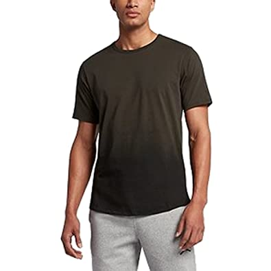 Jordan Nike Mens Dry Short Sleeve T-Shirt Sequoia/Black 872871-355