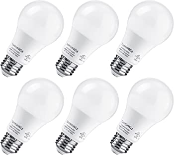 6-Pk. LuminWiz 9W 60W Equivalent LED Light Bulbs