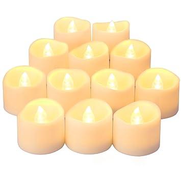 ORIA LED キャンドルライト LEDキャンドル ろうそく 癒しの灯り 煙なし 火を使わない