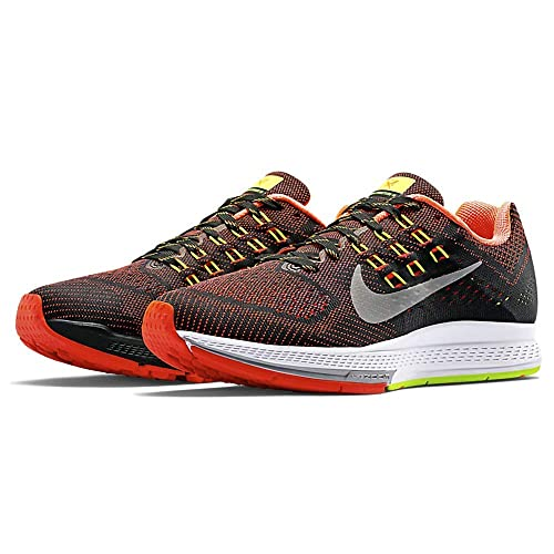 reputable site 7af8c ed911 Nike W Air Zoom Structure 18 Zapatillas para Mujer, Negro   Coral   Gris,