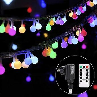 Weihnachtsbeleuchtung Für Aussen Led.Lichterkette Strombetrieben B Right 100 Led Globe Lichterkette Lichterkette Bunt Innen Außen Lichterkette Glühbirne