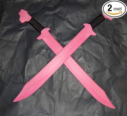 Pink Sword Bolo Philippines Espada Polypropylene Training Practice Swords