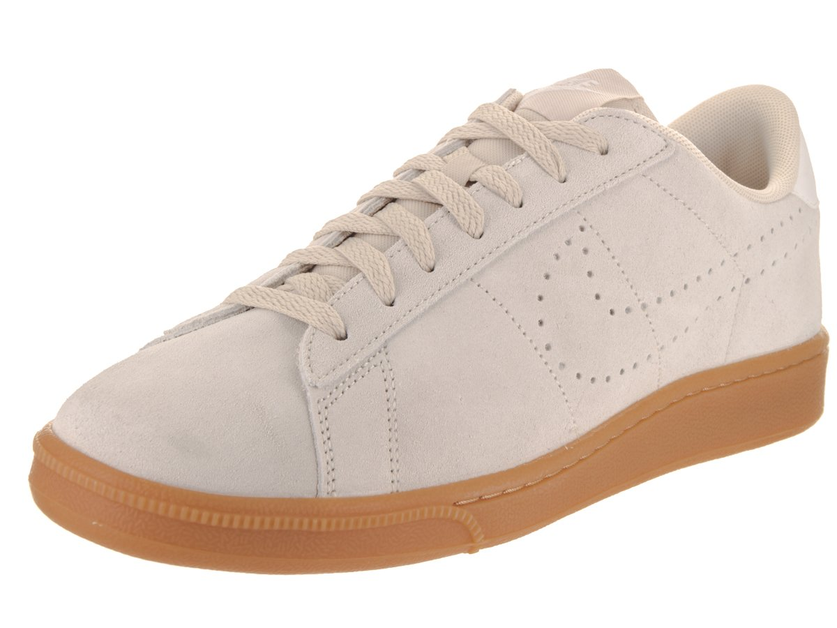 NIKE Tennis Classic CS Suede Men's genuine leather sneaker gray 829351 100 B003OF49Z0 9 D(M) US|Oatmeal/Oatmeal/Ivory