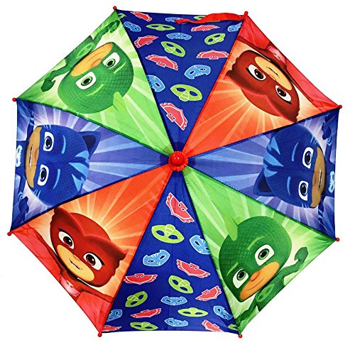 PJ Masks: Owlette Gekko Boys Umbrella Handle for kids