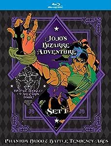 JoJo's Bizarre Adventure Set 1: Phantom Blood and Battle Tendency (Limited Edition) (BD) [Blu-ray]