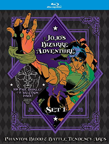 JoJo's Bizarre Adventure Set 1: Phantom Blood and Battle Tendency (Limited Edition) (BD) (Blood Set)