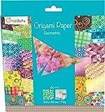 Avenue Mandarine Geometric Origami Paper - Multi-Colou