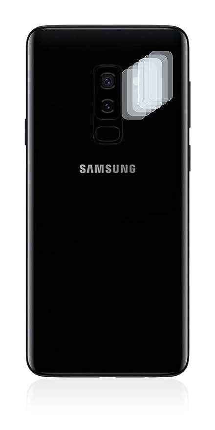 Savvies Protector de Pantalla para Samsung Galaxy S9 Plus (Cámara Trasera) [6 Unidades