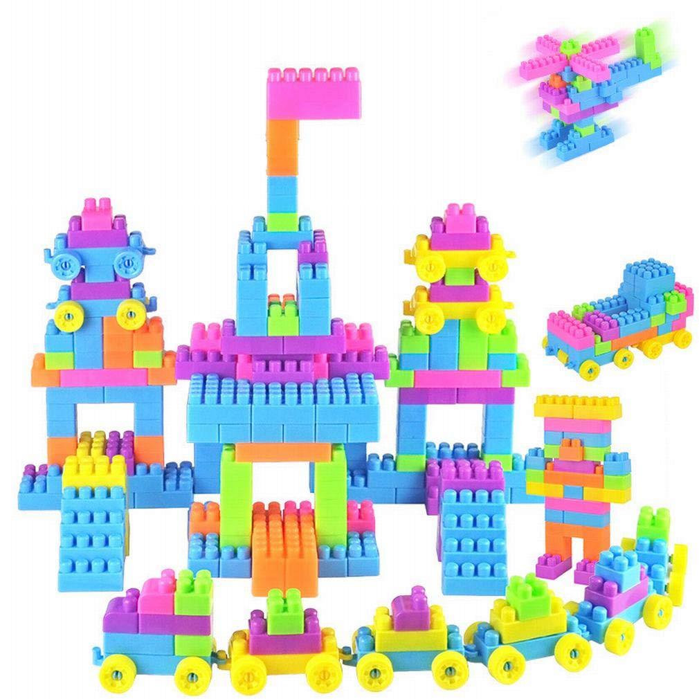 YL LY Los Bloques de Construcción Plásticos Granulares Que Deletrean Los Juguetes Educativos de la Aclaración de Los Niños,UN