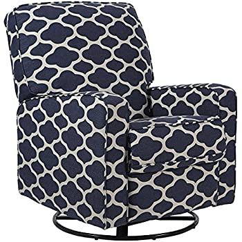 Amazon Com Tms Wing Recliner White With Black Pattern