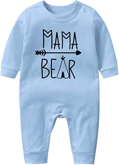 Jaylon Baby Climbing Clothes Romper Baseball Logo Illustration Infant Playsuit Bodysuit Creeper Onesies White