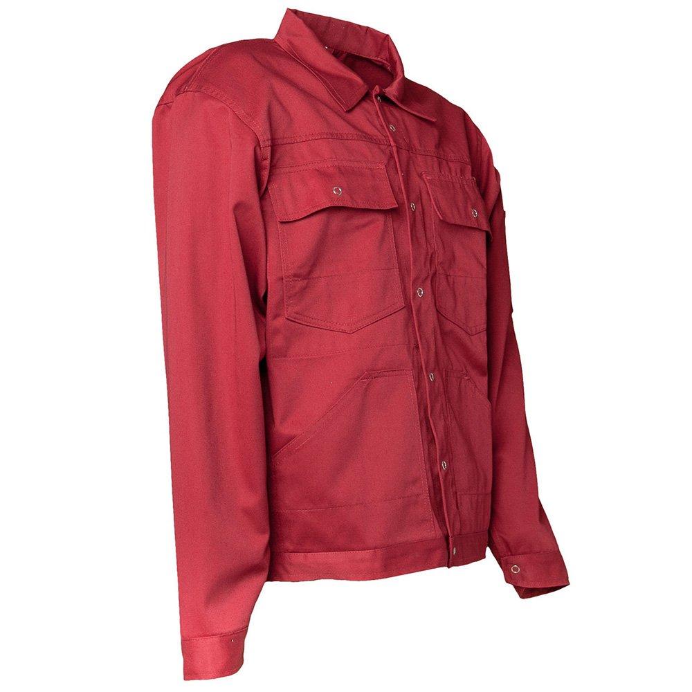 Planam MG260 chaqueta azul Rojo granate Talla:27: Amazon.es ...