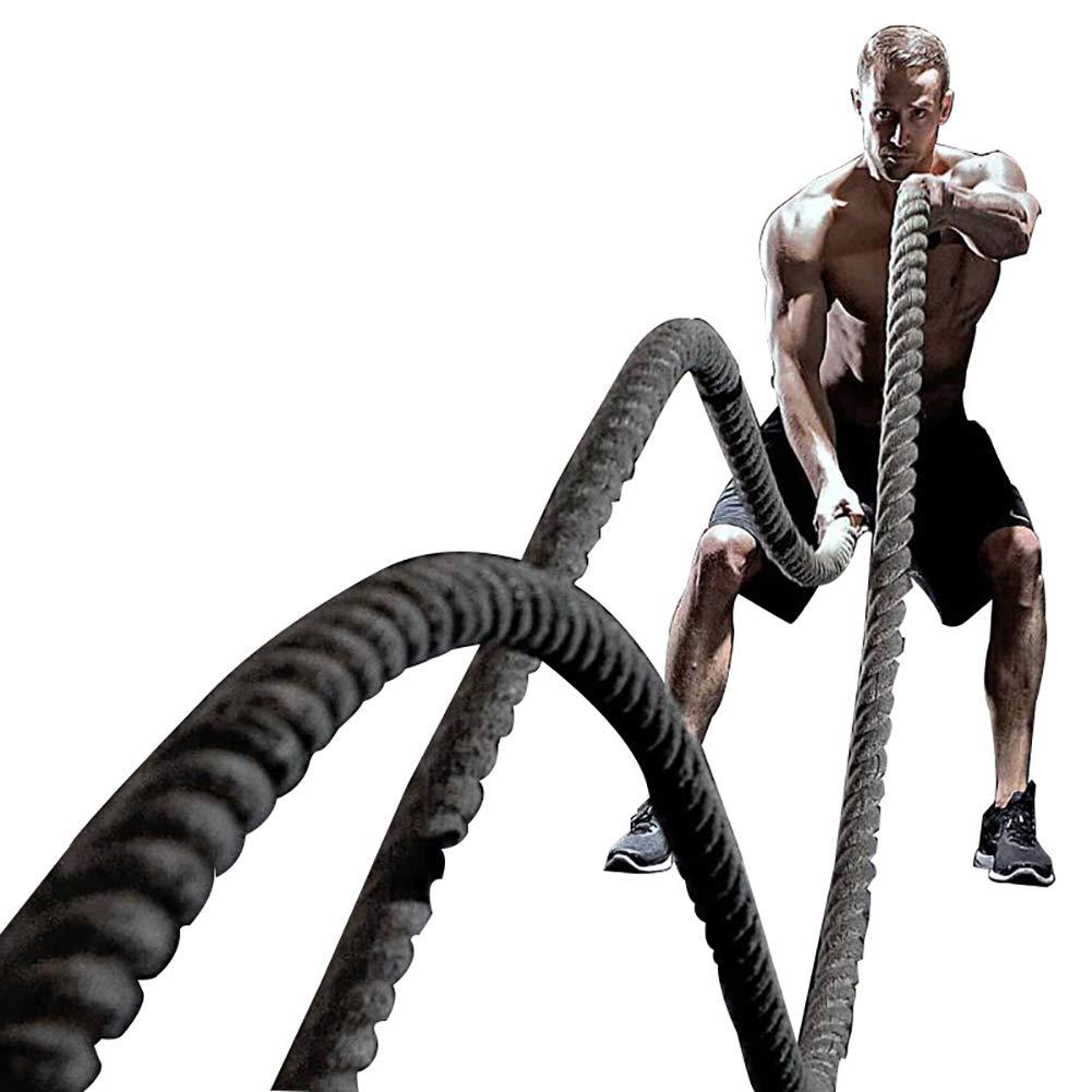 Kampfseil - körperliches Training Seil Kampf Kampfsport Polyester Seil Gym Muskel Anpassung metabolische Übung Fitness
