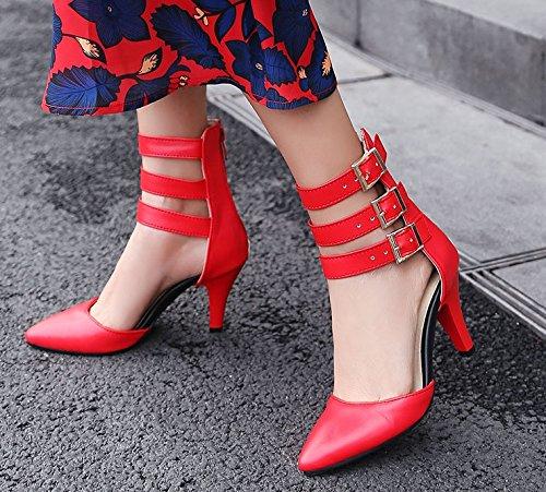 MissSaSa Classique Classique Escarpins Femmes MissSaSa Escarpins Femmes Rouge Rouge wp0xdEq