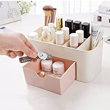 Amazoncom Dozenla Women Makeup Case Cosmetic Holder Storage
