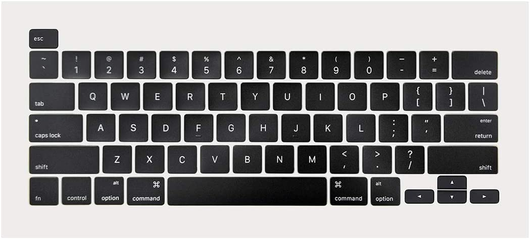 ICTION New A2141 US Keyboard Key Caps keycaps for MacBook Pro A2141 16