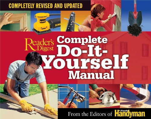 Complete Do-It-Yourself Manual: Completely Revised and (Do It Yourself Books)