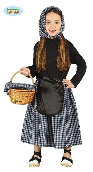Disfraz de castañera (7-9 años)