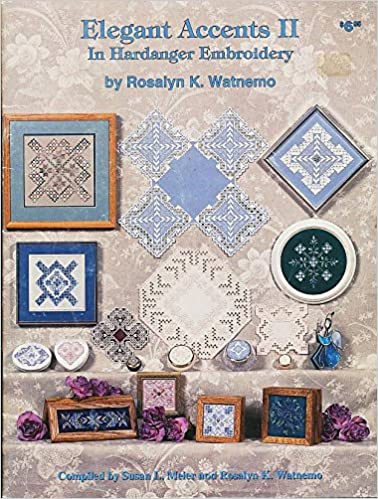 Read Elegant Accents II in Hardanger Embroidery PDF