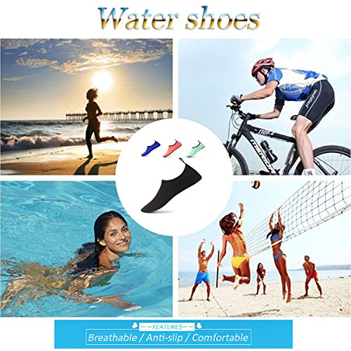 Yoga Beach Exercise for LYZ Skin Surf Shoes Water Blue Swim I00BTAq