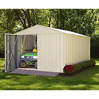 Storboss Mountaineer MHD Storage Shed, 10 By 10 Feet