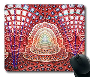Trippy Buddhist Masterpiece Limited Design Oblong Mouse Pad by Cases & Mousepads