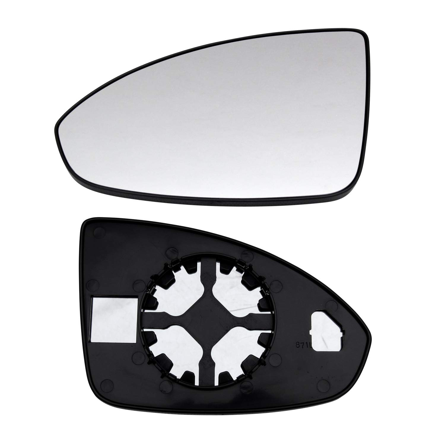 2016 Limited Sold By Rugged TUFF New Replacement Driver Side Mirror Glass With Backing Compatible With 2011-2016 Chevrolet Chevy Cruze